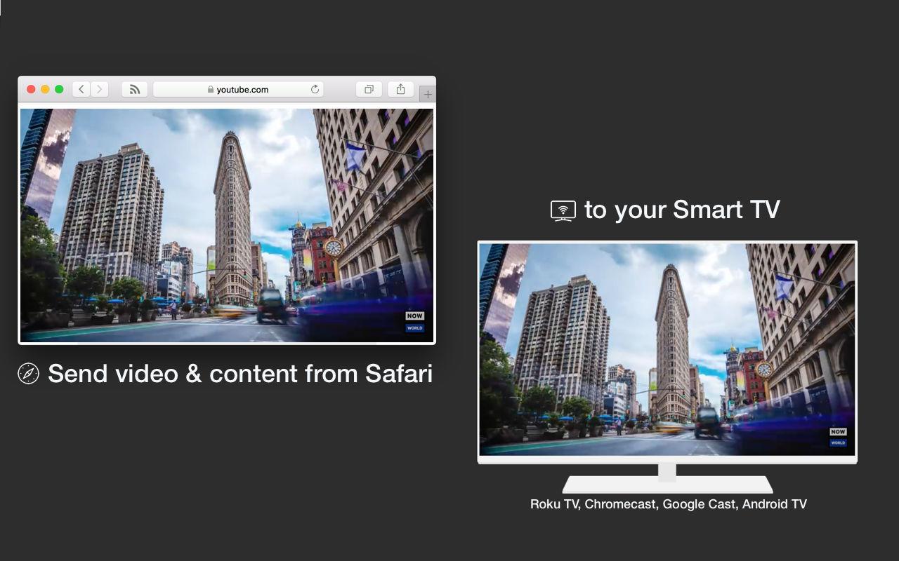 VideoCast for Safari